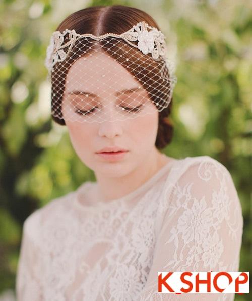 Bật mí kiểu tóc đẹp cho cô dâu đầy quyến rũ lãng mạn trong ngày cưới phần 2