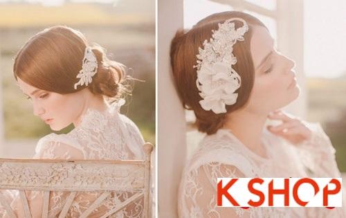 Bật mí kiểu tóc đẹp cho cô dâu đầy quyến rũ lãng mạn trong ngày cưới phần 5