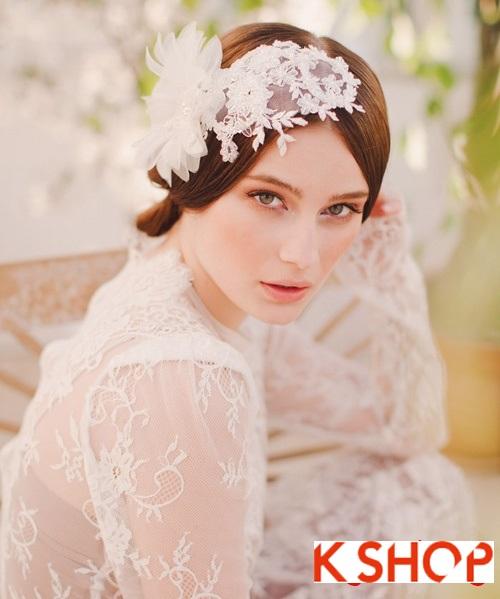 Bật mí kiểu tóc đẹp cho cô dâu đầy quyến rũ lãng mạn trong ngày cưới phần 6