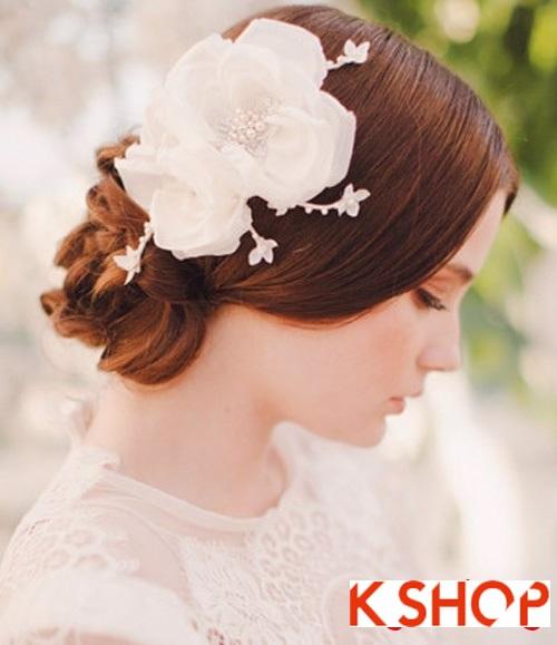 Bật mí kiểu tóc đẹp cho cô dâu đầy quyến rũ lãng mạn trong ngày cưới phần 7