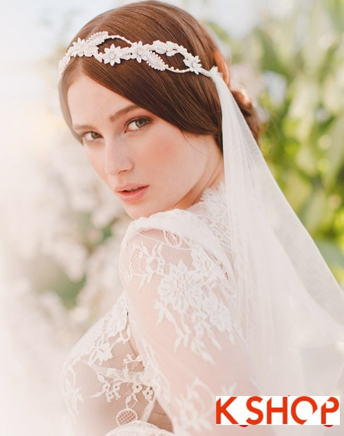 Bật mí kiểu tóc đẹp cho cô dâu đầy quyến rũ lãng mạn trong ngày cưới phần 8