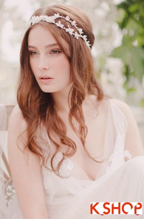 Bật mí kiểu tóc đẹp cho cô dâu đầy quyến rũ lãng mạn trong ngày cưới phần 9