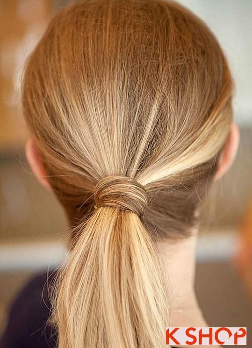 Những kiểu tóc đẹp đơn giản cho bạn gái tới công sở phần 1