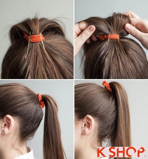 Những kiểu tóc đẹp đơn giản cho bạn gái tới công sở phần 2