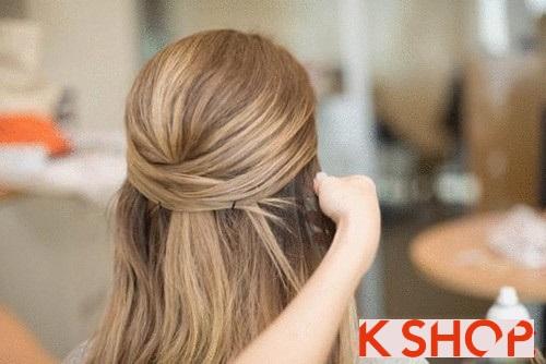 Những kiểu tóc đẹp đơn giản cho bạn gái tới công sở phần 4