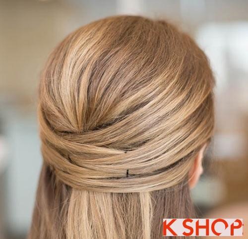 Những kiểu tóc đẹp đơn giản cho bạn gái tới công sở phần 5