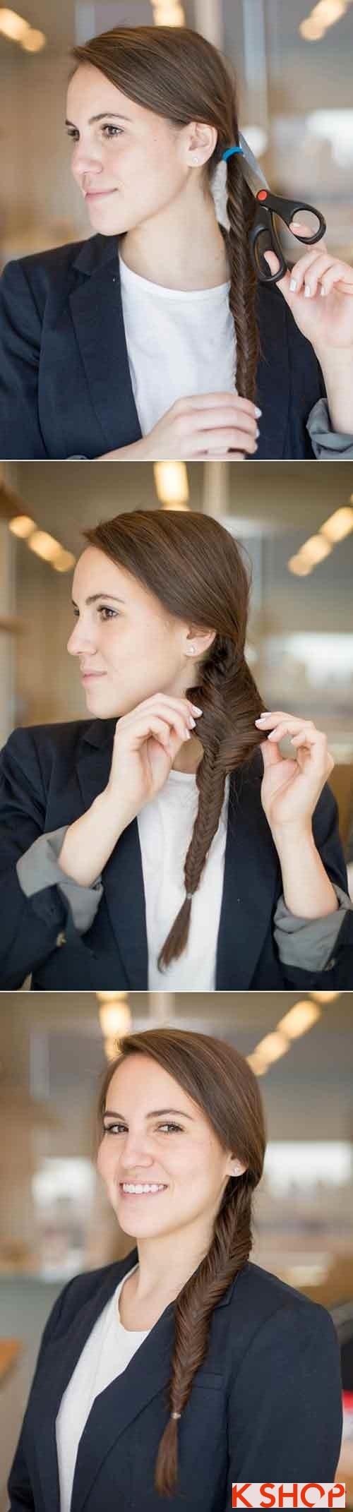 Những kiểu tóc đẹp đơn giản cho bạn gái tới công sở phần 7