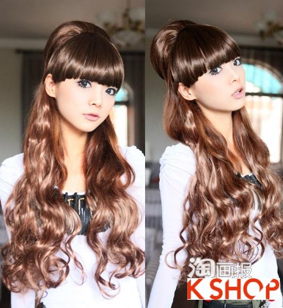 Gợi ý kiểu tóc Hàn Quốc đẹp 2017 cho bạn gái có khuôn mặt tròn phần 10