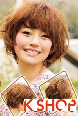 Gợi ý kiểu tóc Hàn Quốc đẹp 2017 cho bạn gái có khuôn mặt tròn phần 2