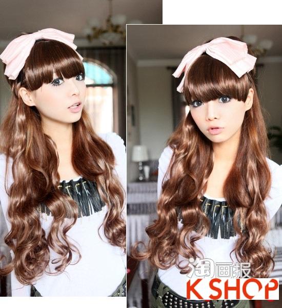 Gợi ý kiểu tóc Hàn Quốc đẹp 2017 cho bạn gái có khuôn mặt tròn phần 8