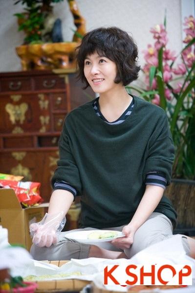 Những kiểu tóc ngắn đẹp xinh xắn dễ thương của sao Hàn Quốc 2015 này phần 6