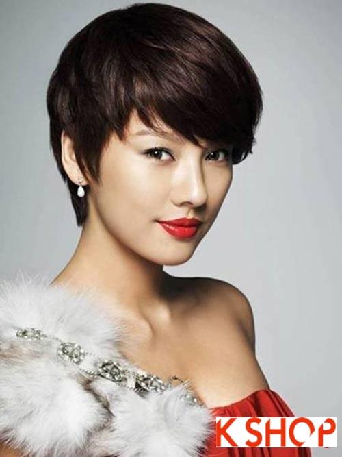 Những kiểu tóc ngắn Hàn Quốc 2016 đẹp cho bạn gái đầy cá tính năng động phần 1