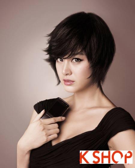 Những kiểu tóc ngắn Hàn Quốc 2016 đẹp cho bạn gái đầy cá tính năng động phần 5