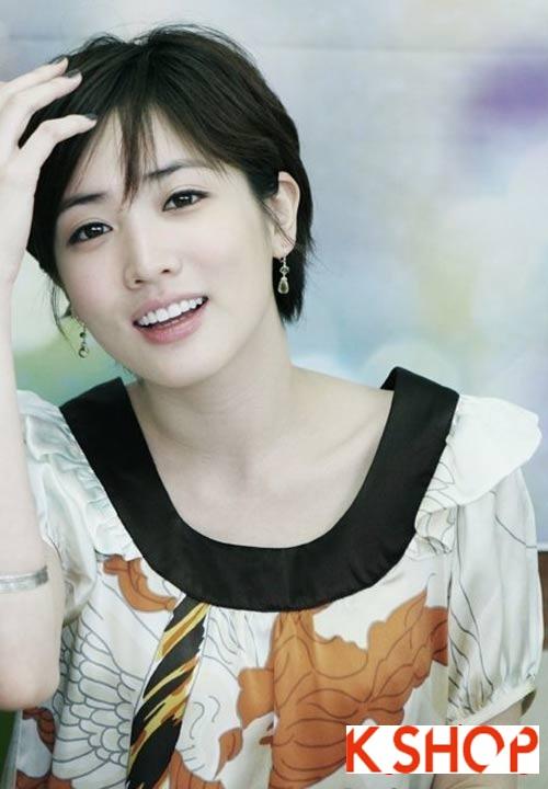 Những kiểu tóc ngắn Hàn Quốc 2016 đẹp cho bạn gái đầy cá tính năng động phần 7