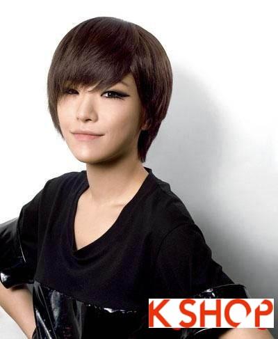Những kiểu tóc ngắn Hàn Quốc đẹp 2016 cho nàng cá tính sành điệu phần 10
