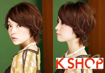 Những kiểu tóc ngắn Hàn Quốc đẹp 2016 cho nàng cá tính sành điệu phần 11