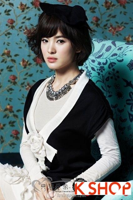 Những kiểu tóc ngắn Hàn Quốc đẹp 2016 cho nàng cá tính sành điệu phần 2