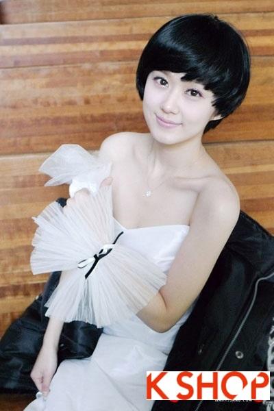 Những kiểu tóc ngắn Hàn Quốc đẹp 2016 cho nàng cá tính sành điệu phần 22