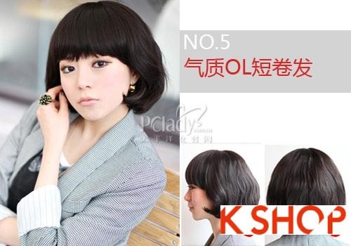 Những kiểu tóc ngắn Hàn Quốc đẹp 2016 cho nàng cá tính sành điệu phần 3