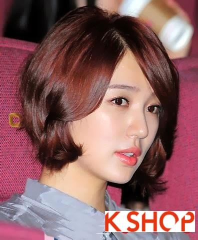 Những kiểu tóc ngắn Hàn Quốc đẹp 2016 cho nàng cá tính sành điệu phần 6