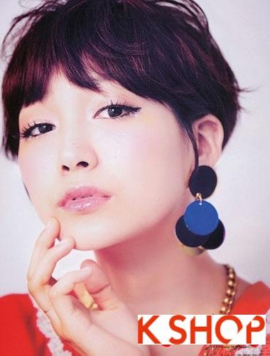 Những kiểu tóc ngắn Hàn Quốc đẹp 2016 cho nàng cá tính sành điệu phần 9