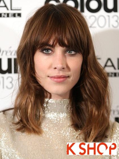 Lựa chọn kiểu tóc ngang vai đẹp cho bạn gái dạo phố hè 2017 phần 2