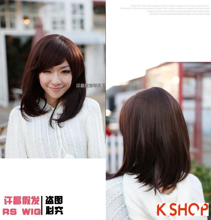 Những kiểu tóc ngắn ngang vai Hàn Quốc cực đẹp 2015 cho cô nàng dễ thương trẻ trung thêm phần quyến rũ phần 3