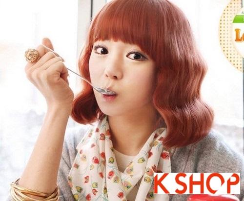 Những kiểu tóc ngắn ngang vai Hàn Quốc cực đẹp 2015 cho cô nàng dễ thương trẻ trung thêm phần quyến rũ phần 5