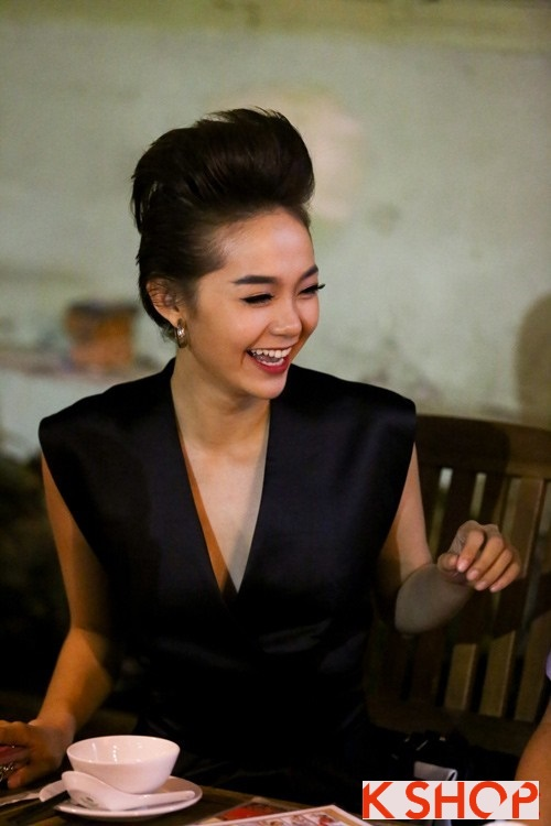 Những kiểu tóc ngắn tuyệt đẹp 2017 của ca sỹ Minh Hằng phần 4