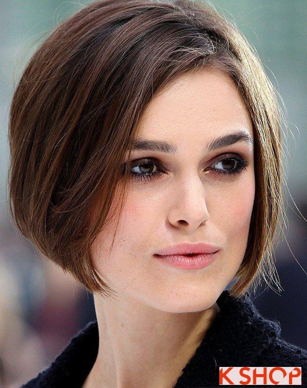 Những kiểu tóc ngắn đẹp 2017 phù hợp với từng khuôn mặt bạn gái phần 15