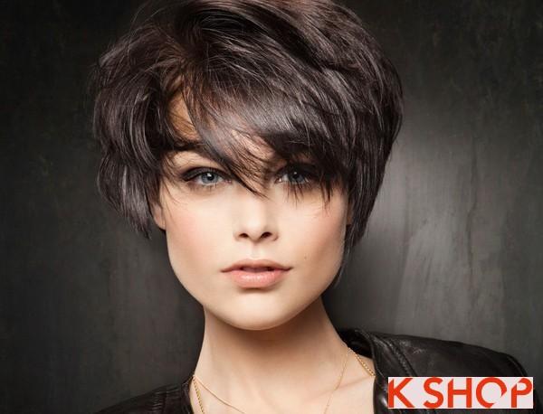 Những kiểu tóc ngắn đẹp 2017 phù hợp với từng khuôn mặt bạn gái phần 3