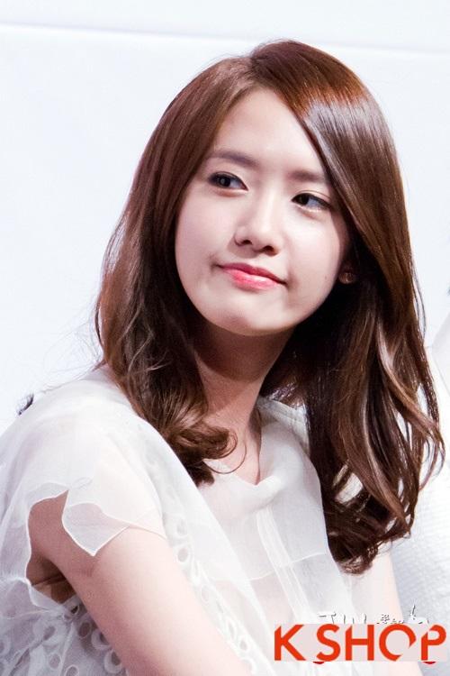 Kiểu tóc ngắn uốn xoăn ngang vai Hàn Quốc đẹp trẻ trung dạo phố hè 2017 phần 2