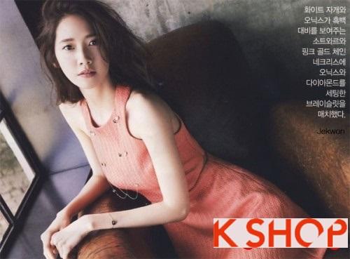 Kiểu tóc ngắn uốn xoăn ngang vai Hàn Quốc đẹp trẻ trung dạo phố hè 2017 phần 5