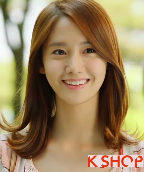 Kiểu tóc ngắn uốn xoăn ngang vai Hàn Quốc đẹp trẻ trung dạo phố hè 2017 phần 6