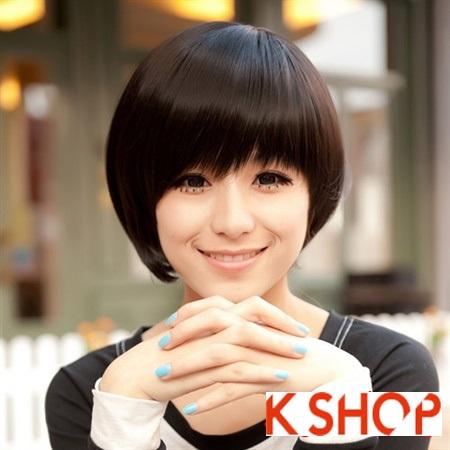 Kiểu tóc ngắn ngang vai uốn xoăn đẹp hot được bạn gái ưa chuộng nhất hè 2017 phần 11