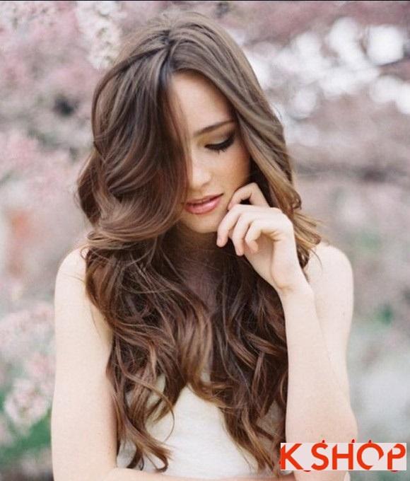 Những kiểu tóc đẹp hot 2017 phù hợp với bạn gái có khuôn mặt dài phần 15