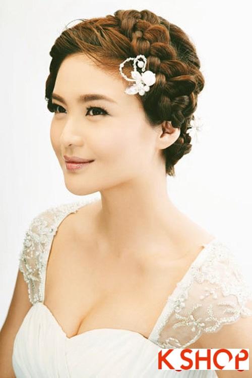 Những kiểu tóc tết tuyệt đẹp 2015 đơn giản cho cô dâu lãng mạn trong ngày cưới mùa thời trang tóc năm nay phần 1