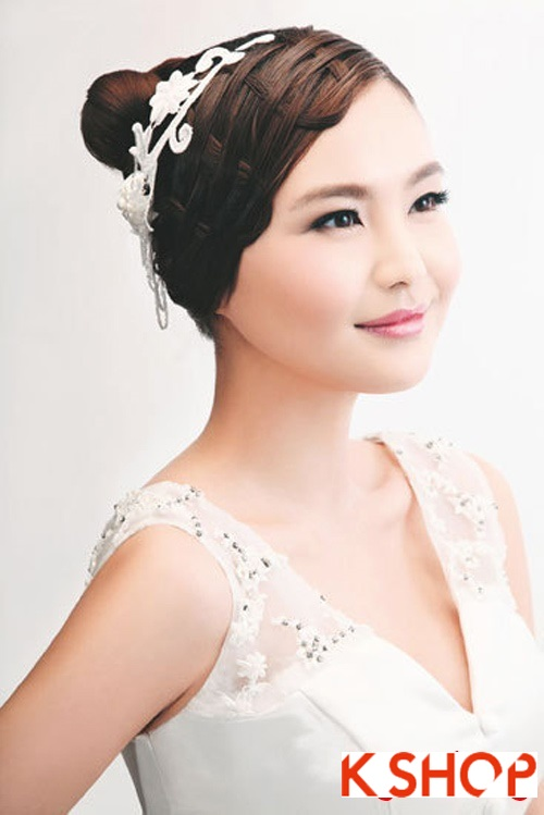 Những kiểu tóc tết tuyệt đẹp 2015 đơn giản cho cô dâu lãng mạn trong ngày cưới mùa thời trang tóc năm nay phần 10