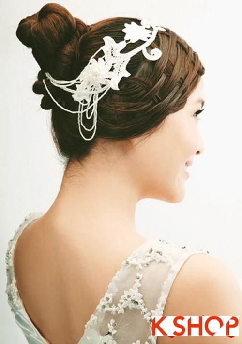Những kiểu tóc tết tuyệt đẹp 2015 đơn giản cho cô dâu lãng mạn trong ngày cưới mùa thời trang tóc năm nay phần 11