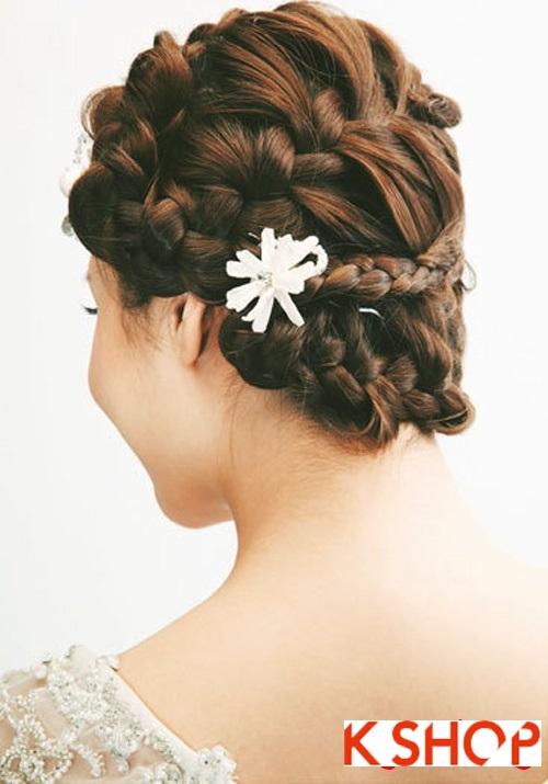 Những kiểu tóc tết tuyệt đẹp 2015 đơn giản cho cô dâu lãng mạn trong ngày cưới mùa thời trang tóc năm nay phần 2