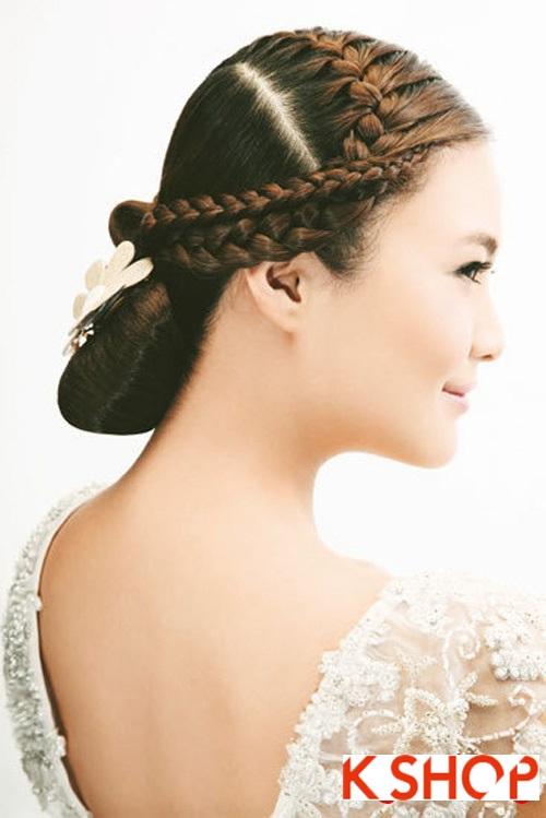 Những kiểu tóc tết tuyệt đẹp 2015 đơn giản cho cô dâu lãng mạn trong ngày cưới mùa thời trang tóc năm nay phần 3