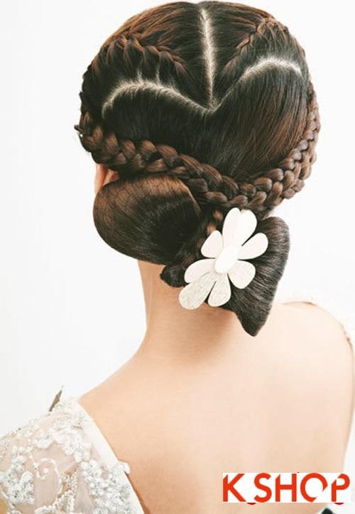 Những kiểu tóc tết tuyệt đẹp 2015 đơn giản cho cô dâu lãng mạn trong ngày cưới mùa thời trang tóc năm nay phần 4