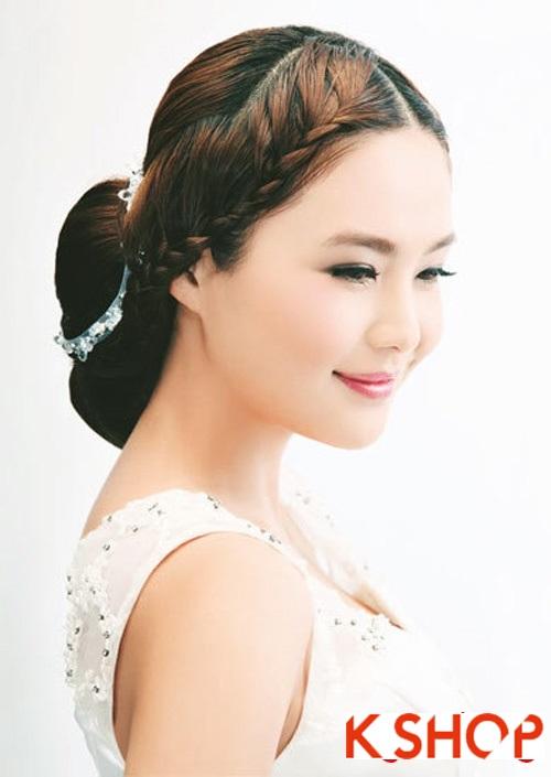 Những kiểu tóc tết tuyệt đẹp 2015 đơn giản cho cô dâu lãng mạn trong ngày cưới mùa thời trang tóc năm nay phần 7