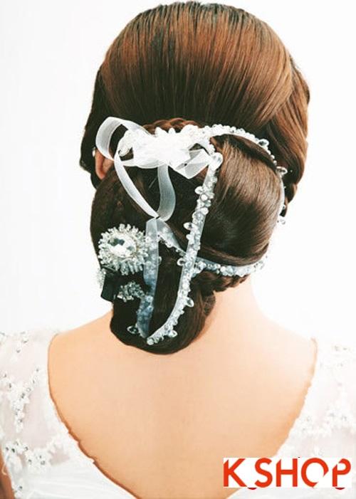 Những kiểu tóc tết tuyệt đẹp 2015 đơn giản cho cô dâu lãng mạn trong ngày cưới mùa thời trang tóc năm nay phần 8