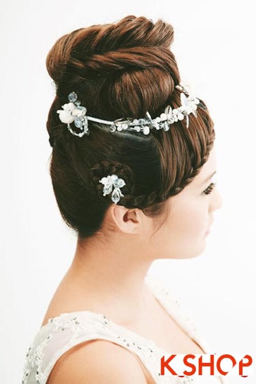 Những kiểu tóc tết tuyệt đẹp 2015 đơn giản cho cô dâu lãng mạn trong ngày cưới mùa thời trang tóc năm nay phần 9
