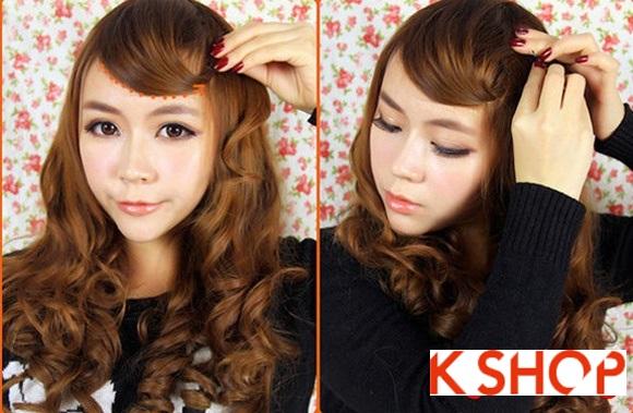 Kiểu tóc uốn xoăn Hàn Quốc đẹp 2016 cho cô nàng năng động hoạt bát phần 3