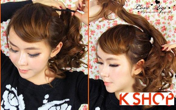 Kiểu tóc uốn xoăn Hàn Quốc đẹp 2016 cho cô nàng năng động hoạt bát phần 4