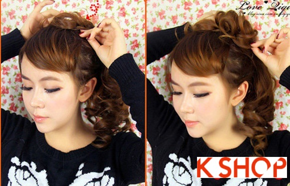 Kiểu tóc uốn xoăn Hàn Quốc đẹp 2016 cho cô nàng năng động hoạt bát phần 5