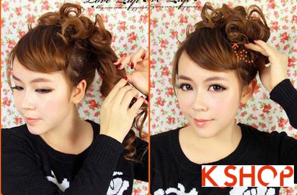 Kiểu tóc uốn xoăn Hàn Quốc đẹp 2016 cho cô nàng năng động hoạt bát phần 6
