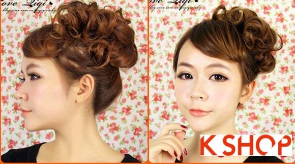 Kiểu tóc uốn xoăn Hàn Quốc đẹp 2016 cho cô nàng năng động hoạt bát phần 7